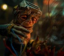 Babu Frik, un piccolo alieno baffuto dell'universo di Star Wars