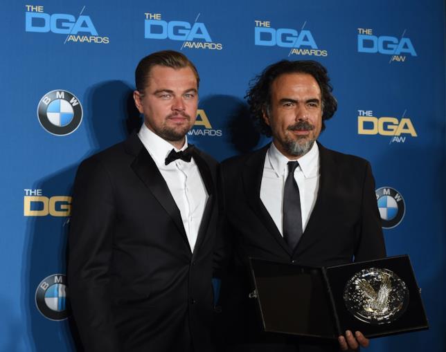 Di Caprio e Iñárritu ai DGA Awards