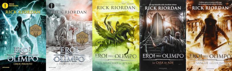 Eroi dell'Olimpo, la serie di Rick Riordan