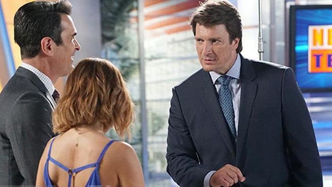 Nathan Fillion, una delle guest star della stagione 8