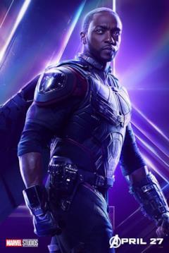 Il poster del personaggio di Falcon