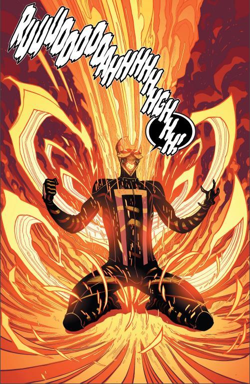 La prima apparizzione del nuovissimo Ghost Rider