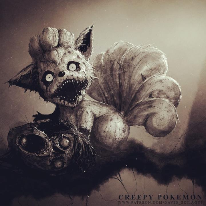 Vulpix in versione horror
