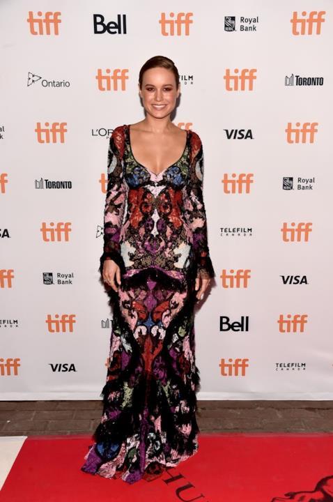 Brie Larson alla prima di Free Fire al Tiff