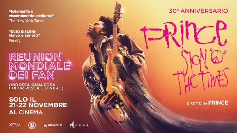 Il poster di Prince - Sign 'O' the Time