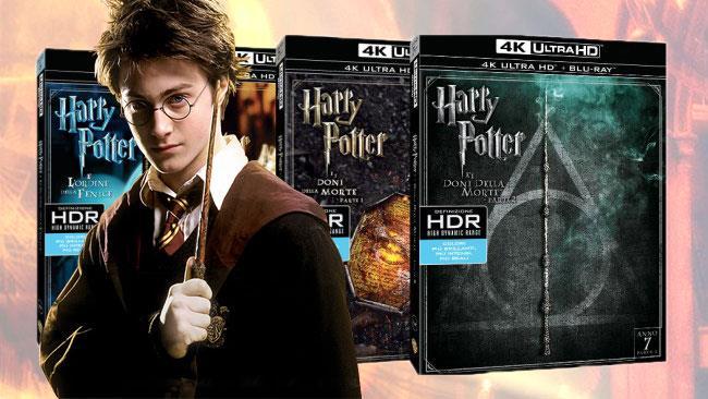 I cofanetti dei primi film di Harry Potter in 4K in arrivo nel 2017