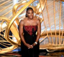 Un primo piano della tennista Serena Williams