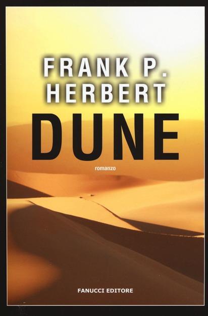 Copertina del primo romanzo della saga di Dune