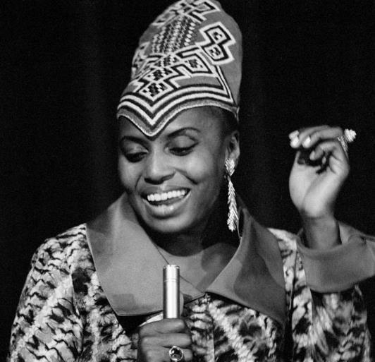 Uno scatto di Miriam Makeba