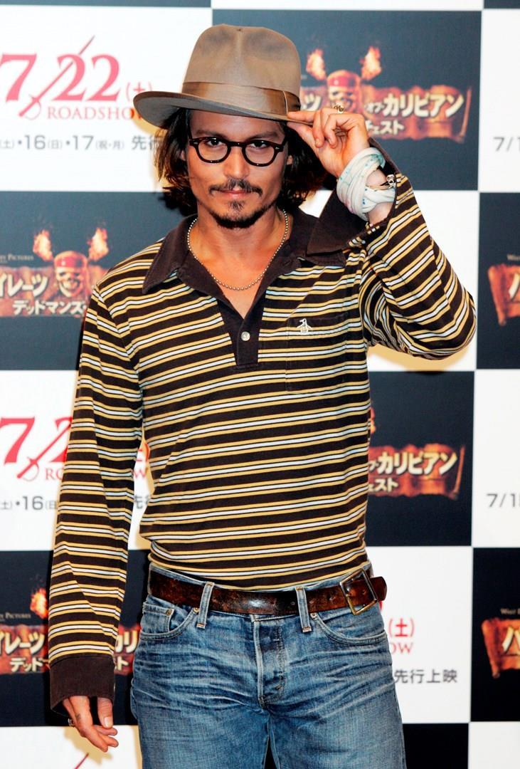Johnny Depp a un evento