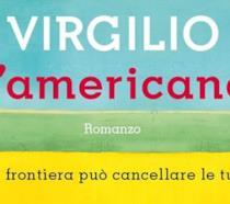 Un particolare della copertina de L'americano di Massimiliano Virgilio
