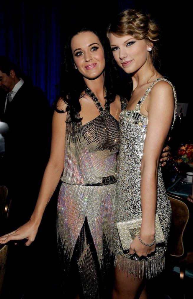 Foto di Taylor Swift e Katy Perry insieme