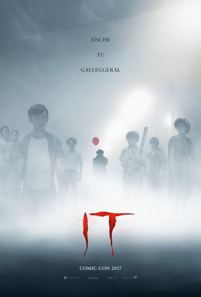 Il nuovo poster ufficiale di IT
