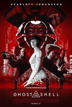 la locandina del film in stile manga