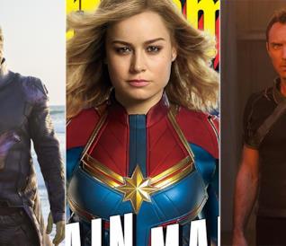 Captain Marvel: gli Skrull, le nuove origini e molto altro nelle prime immagini