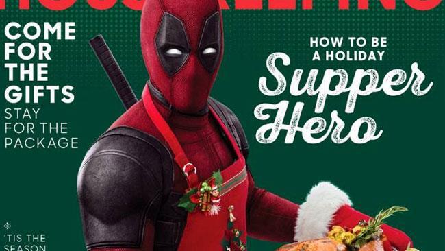 Deadpool, l'anti-eroe Marvel protagonista di una campagna pubblicitaria a tema Ringraziamento