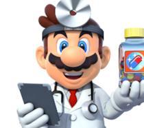 Un primo piano di Dr. Mario