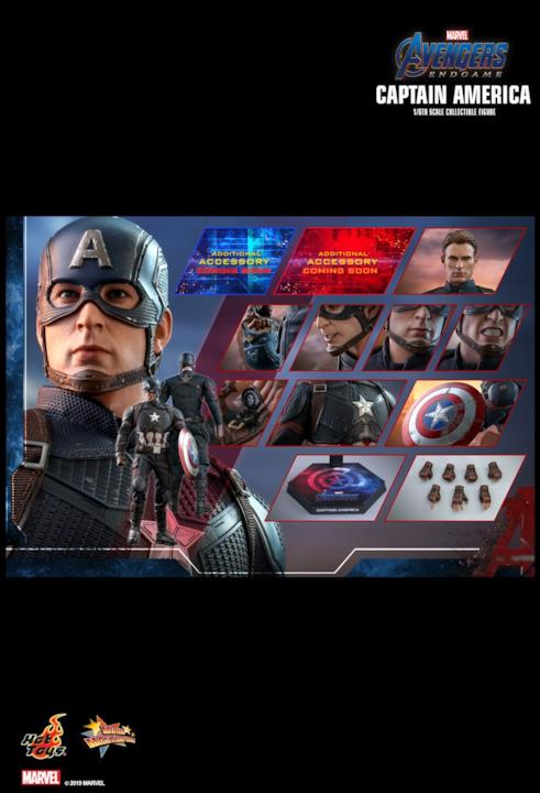Overview del Captain America di Hot Toys per Avengers: Endgame