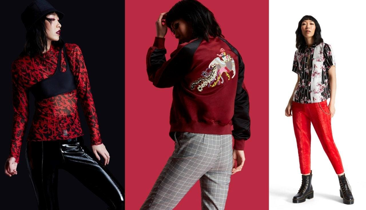 Camice e giacca ispirate a Mulan