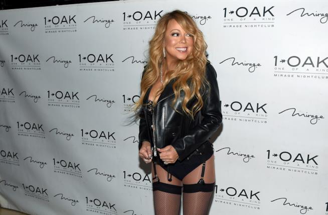 Primo piano di Mariah Carey