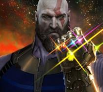 Kratos nei panni di Thanos