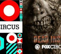 Il logo di FOX Circus assieme a quello dell'evento Dead Inside