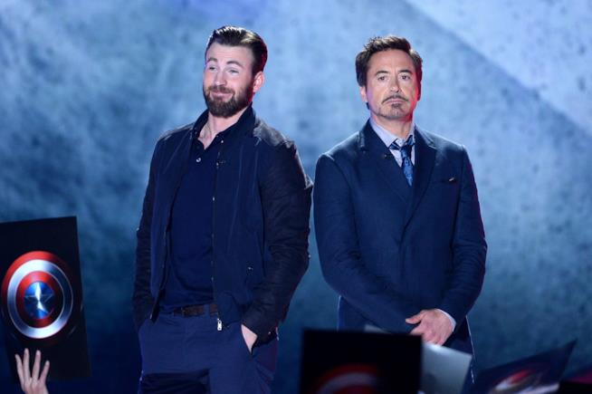Robert Downey Jr. e Chris Evans ai Kids' Choice Awards 2016