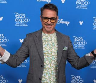 Robert Downey Jr. al D23 Expo 2019