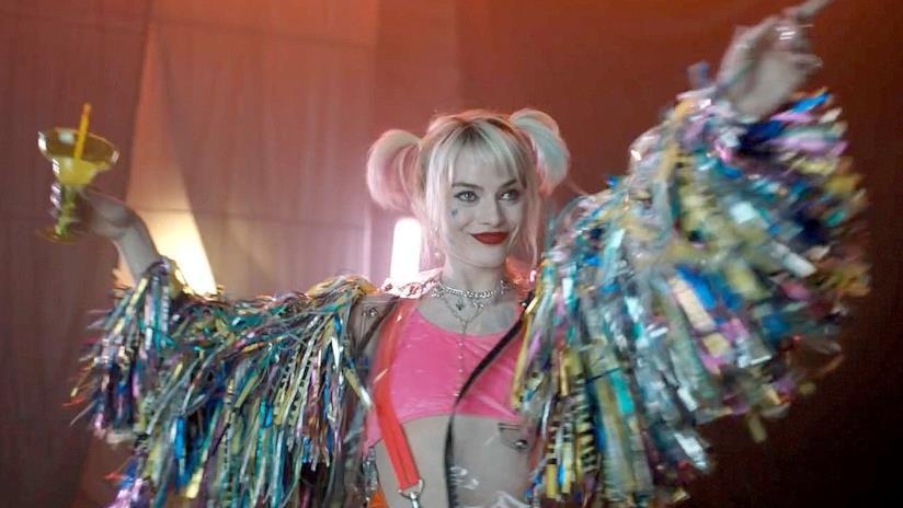Harley Quinn in una scena di Birds of Prey