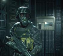 Il soldato Umbrella di Resident Evil 2 Remake