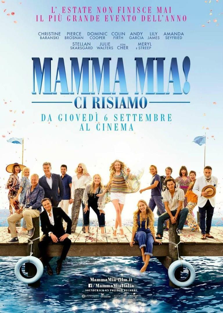 Poster italiano di Mamma Mia! Ci risiamo