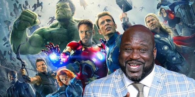 Shaq fa capolino tra i membri di Avengers