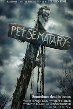 I segni del cimitero vivente nel poster di Pet Sematary