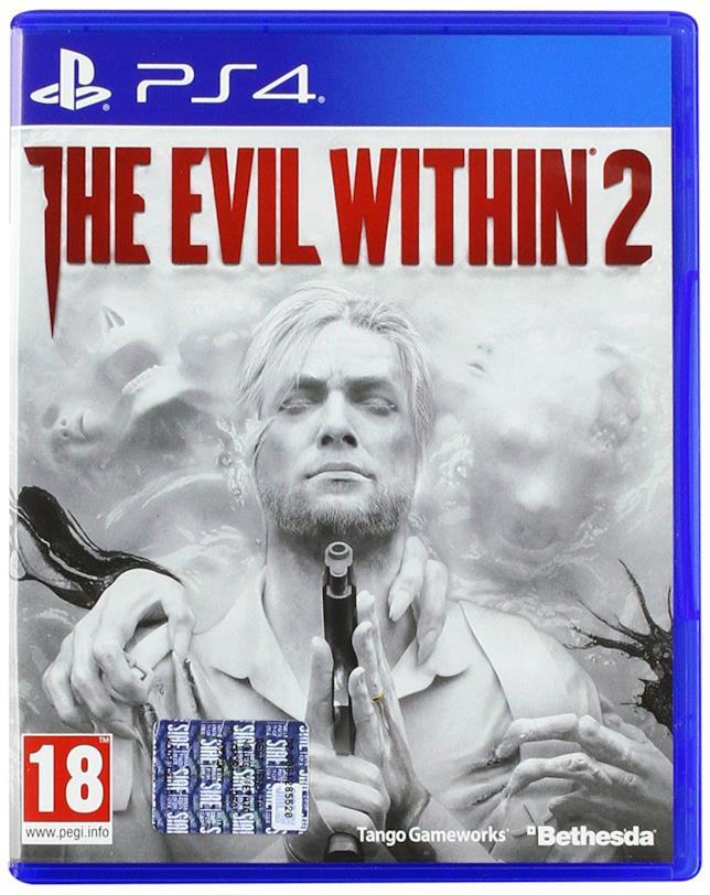Packshot di The Evil Whitin per PS4