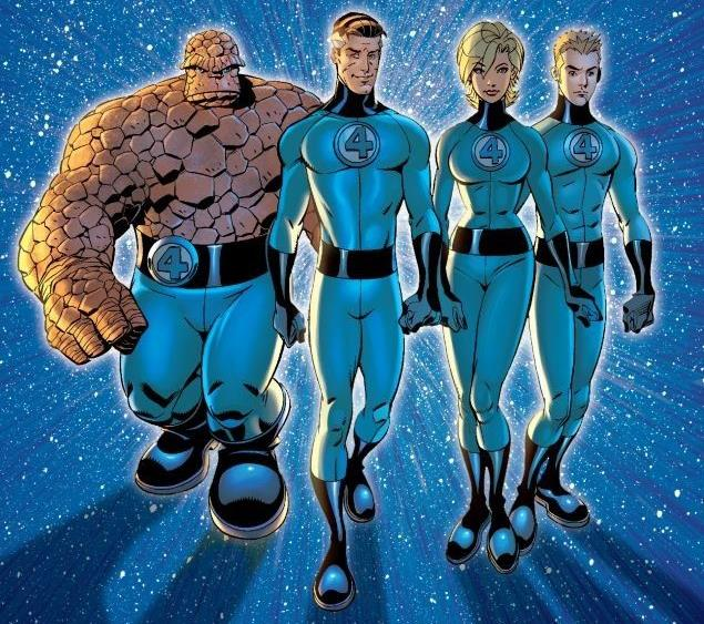 Dettaglio della cover di Fantastic Four By Mark Waid and Mike Wieringo: Ultimate Collection - Book Two