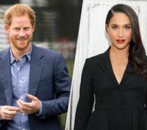 Un collage tra il principe Harry e Meghan Markle