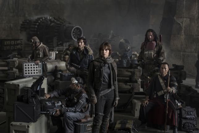 I protagonisti di Rogue One: A Star Wars Story