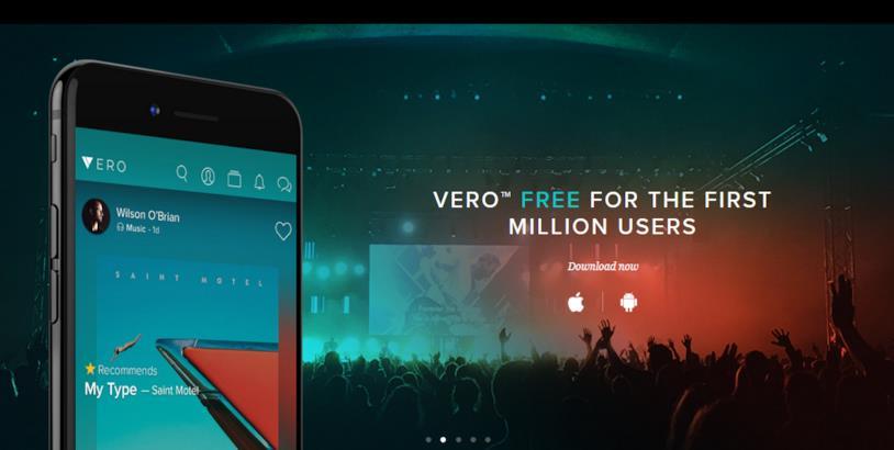 Il social network Vero è gratis soltanto per il primo milione di iscritti