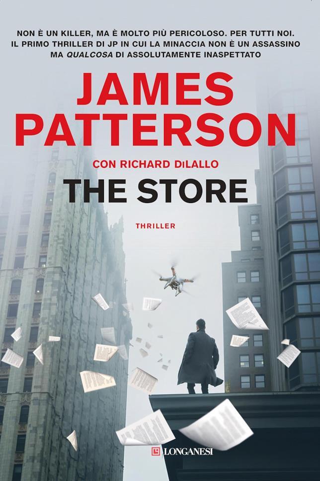 La copertina distopica di The Store