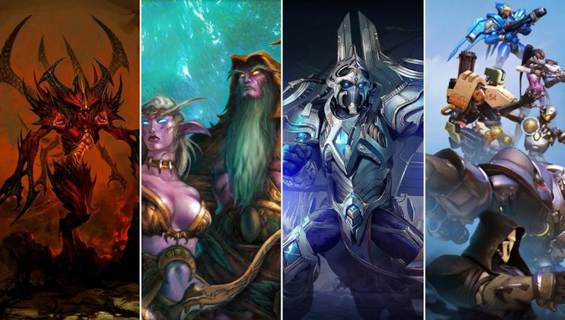 Blizzard serie