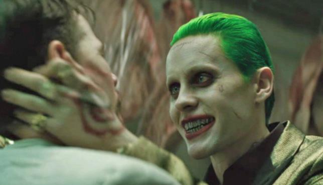 Una scena di Joker in Suicide Squad