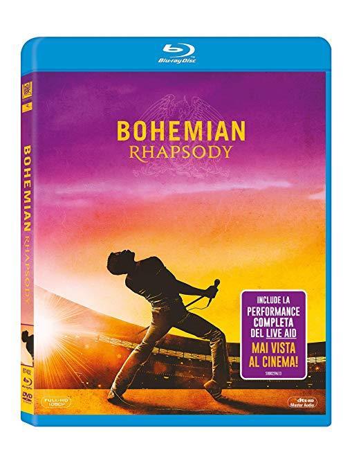 Copertina Blu-Day Bohemian Rhapsody