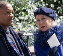 Helen Mirren e Will Smith in Collateral Beauty