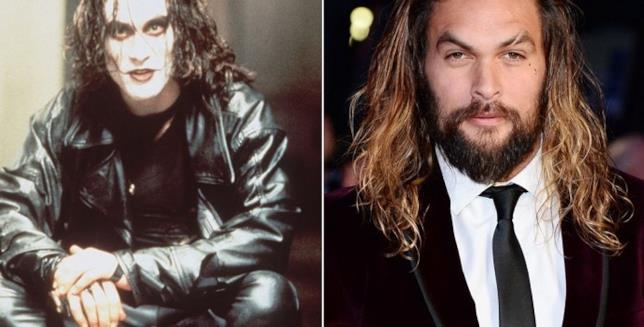 Brandon Lee e Jason Momoa