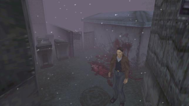 Uno screenshot di Silent Hill
