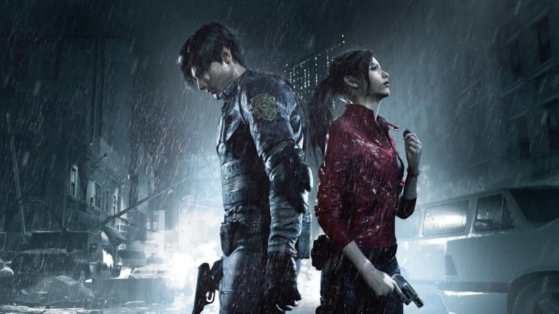 Leon e Claire protagonisti RE2