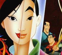 Mulan nella copertina del cartone animato