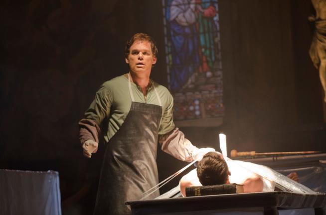 Uno degli omicici più iconici portati a termine da Dexter Morgan