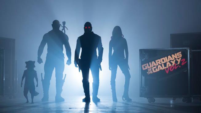La prima immagine ufficiale di I Guardiani della Galassia Vol. 2