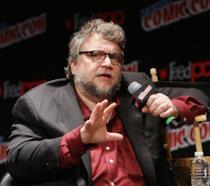 Il regista Guillermo del Toro al NY Comic-Con 2016
